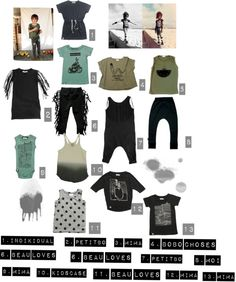 A selection of our favorite items in dark shades, for those kids that like to wear cool colors!