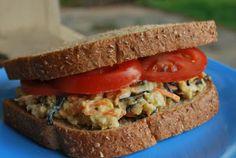 Chickpea-Hijiki Salad Sandwich [recipe in Vegan with a Vengeance]
