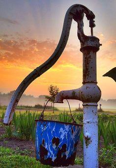 .Farm house pump