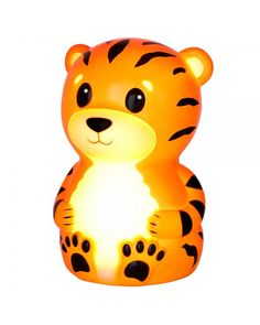 Special Price $23.99~Onaroo Terry the Tiger Portable Night-Light with Rainbow Color Change