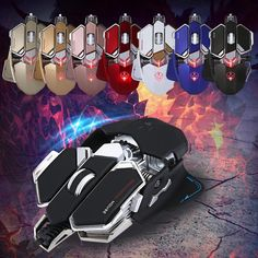 Blazer The Gamer - G10 Wired Gaming Mouse (10 Buttons)