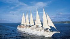 Windstar Caribbean Islands: This is no big-box cruise: Wind Surf is a lovely boat with room for just 310 passengers.