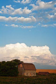 Nebraska. Gotta love that huge beautiful sky!