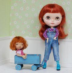 Wagon Wooden For Tiny Dolls Handmade Diorama Irrealdoll Lati Yellow Pukiefee Blythe Littlefee