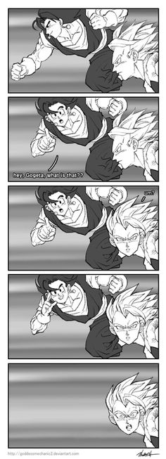 Vegetto and Gogeta by GoddessMechanic2 on DeviantArt