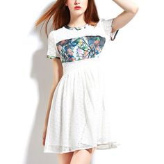 Gloria Dress | White by Dress Up on Brands Exclusive