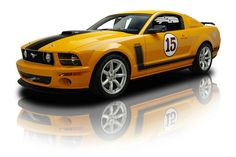 2007 Ford Saleen Mustang Parnelli Jones 302 V8 5 Speed