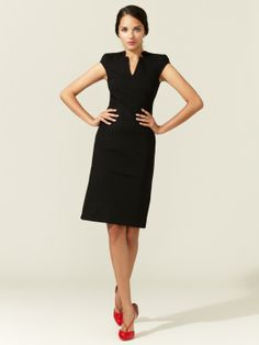 Knit Suiting Sleeveless Dress by Zac Posen at Gilt