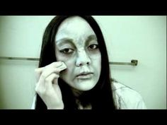 """Samara"" - The Ring Inspired Makeup Tutorial..I still get the ""Oh your name is like the one off The Ring""...ummm sure"