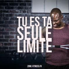 Tu es ta seule limite ! Des workouts, des recettes, des revues de programmes sur Zone Fitness !