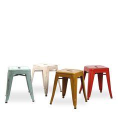 Taburete Vintage URAL -Metal Color Edition- (Taburetes) - Tolix Sillas de diseño, mesas de diseño, muebles de diseño, Modern Classics, Contemporary Designs...