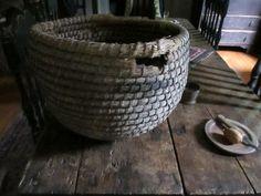 Early bee skep basket