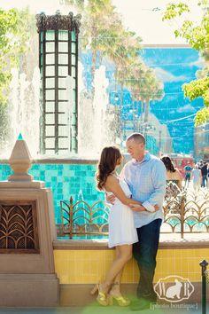 Disneyland Engagement Session Photos