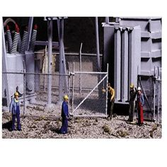 NEW Walthers Cornerstone Kit Chain Link Fence HO Scale 933-3125 #Walthers