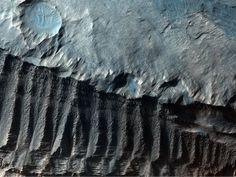 Mars, via HiRISE
