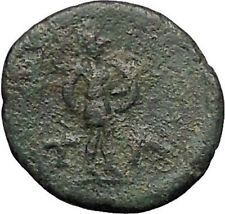 TEMNOS in AEOLIS 200BC Athena Ares Rare Authentic Ancient Greek Coin i56317