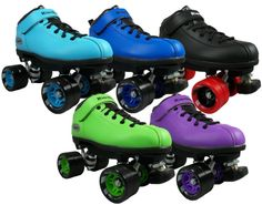 Quad Roller Derby Speed Skates