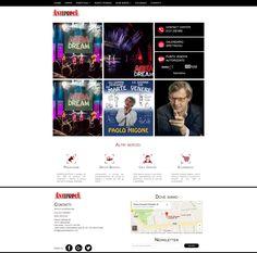 Gruppoanteprima è una organizzazione specializzata nella creazione e produzione di eventi per enti, onlus, aziende, privati. Sito web con sistema di gestione eventi.