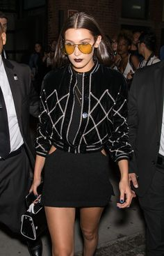 """""""Bella Hadid leaving the DKNY show in New York City """""""