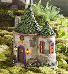 Miniature Fairy Garden Surrey Solar House