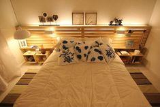 Oggi ho intenzione di proporre come decorare la vostra camera da letto con pallet di legno e cassette di frutta. Con i pallet si può fare il letto e la testata, e con le cassette di frutta si possono creare i comodini. Nelle fotografie allegati in questo messaggio c'è un po 'di trucco, la testata [...]