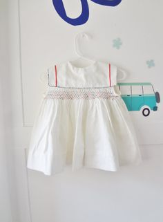 vintage July 4th dress nautical baby by Lilacwinevintage on Etsy