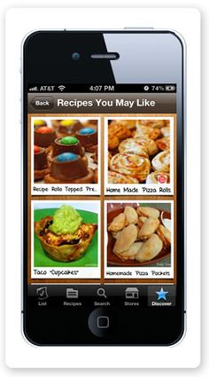 Recipes You May Like - ZipList Mobile App