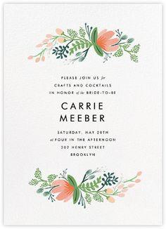 Bridal shower - Paperless Post