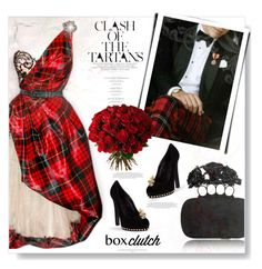 """Tartan By McQueen..."" by desert-belle ❤ liked on Polyvore featuring Alexander McQueen, Aquarelle, women's clothing, women's fashion, women, female, woman, misses, juniors and AlexanderMcQueen"