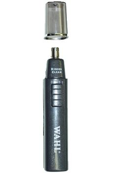 Wahl Nose Trimmer. Wet/dry stainless steel blade. #wahl #nose #trimmer