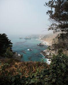 Road tripping the California coast through Big Sur up to San Francisco.