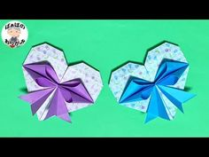 Origami Star Paper, Origami Swan, Origami And Quilling, Origami Ball, Origami Flowers, Origami Hearts, Origami Boxes, Origami Heart Instructions, Origami Tutorial