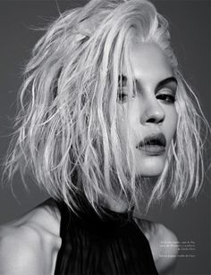 """milkiko:  amorepericoloso:  opaqueglitter:  Kate B (Next) In """"Deseo Nior"""" For ViewOfTheTimes November 2012  whoa bestfucking haircut ever  this is gonna be my hair at least by christmas weehee"""