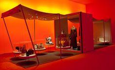 Hermès 'Leather Forever' exhibition, London  design / interiors / architecture / fashion / art