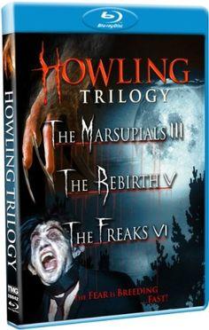Howling Trilogy (The Marsupials III / The Rebirth V / The Freaks VI) [Blu-ray] Shout! Factory / Timeless Media http://www.amazon.com/dp/B003ZZ7TMO/ref=cm_sw_r_pi_dp_Hayrvb0ME2HNF