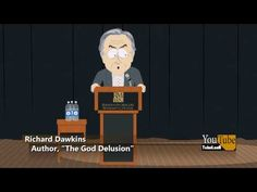"""Richard Dawkins' Famous """"What If You're Wrong"""" Speech Animated South-Park Style 