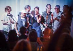 Final del concierto de Afluentes con invitados en Wine Culture Center, Barcelona. Mayo 2015