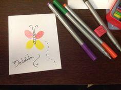 Atividade de primavera : Cartões criativos