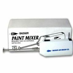 Badger Air-Brush Co 121 Paint Mixer for sale online Air Brush Painting, Bottle Painting, Vallejo Paint, Paint Stirrers, Paint Charts, Clean Pots, Paint Booth, Types Of Painting, Mini Paintings