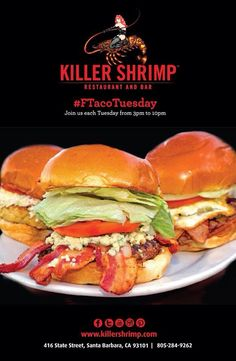 Head to our #KillerShrimp #SantaBarbara location for #Ftacotuesday!