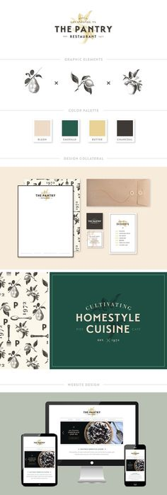 The Pantry Restaurant BrandingYou can find Restaurant branding and more on our website.The Pantry Restaurant Branding Hotel Branding, Café Branding, Jewelry Branding, Bakery Branding, Personal Branding, Office Branding, Personal Logo, Branding Ideas, Pizza Branding