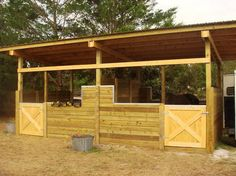 Example of what Outside stalls - breezy. Built by Josh Wolkes.