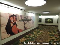Lion King prints in the halls at Disney's Art of Animation Resort. - For more resort photos & information, see: http://www.buildabettermousetrip.com/disneys-art-of-animation  #artofanimationresort #DisneyWorld