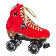 Moxi Lolly Poppy Red Skates – Lucky Skates