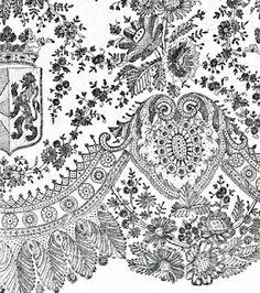 antique lace printable