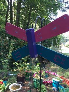 Fan blade butterflies