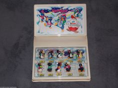 Buchhüllendiorama Diorama Peppy Pingos Party EU Kinder Surprise | eBay