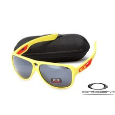 Fake Oakley dispatch II sunglasses yellow / black iridium