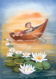My collection. Kaarina Toivanen - Юлия К - Picasa Web Albums Creation Photo, Funny Drawings, Gone Fishing, My Collection, Water Lilies, Children's Book Illustration, Craft Activities, Cute Art, Wallpaper Backgrounds