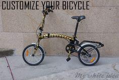 CUSTOMIZE YOUR BIKE | MY WHITE IDEA DIY